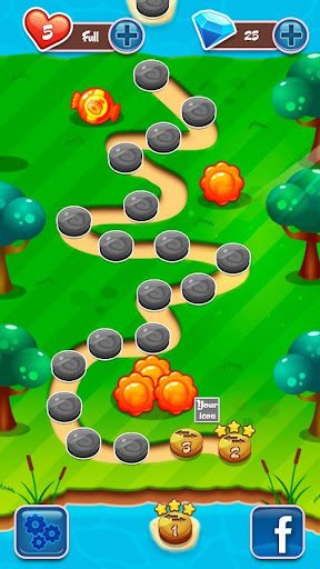 Jelly Word Match 3  screenshots 1