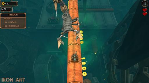 iron ant-robot bugs shooting battle screenshot 2
