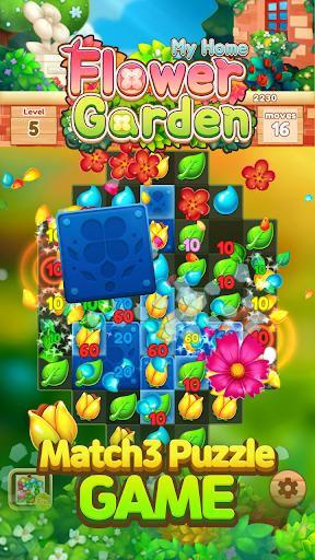 My Home Flower Garden: Puzzle Master 1.5.1 screenshots 2