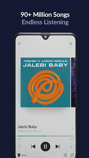 JioSaavn Music & Radio u2013 JioTunes, Podcasts, Songs apktram screenshots 1