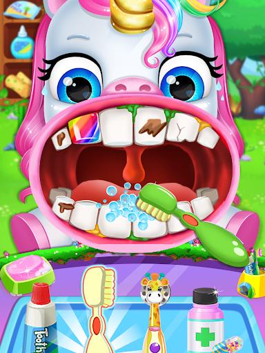Unicorn Pet Dentist Dental Care Teeth Games 0.7 Screenshots 1