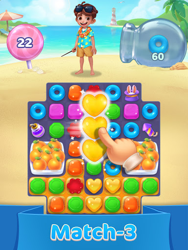 Jellipop Match-Decorate your dream islanduff01 7.8.6 screenshots 7