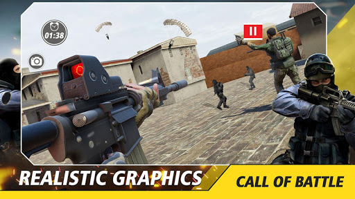 Counter Critical Strike: Army Mission Game Offline screenshots 16