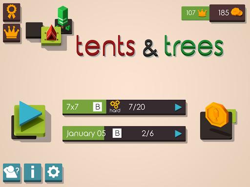 Tents and Trees Puzzles 1.6.26 screenshots 10