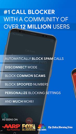 Call Control - SMS/Call Blocker. Block Spam Calls! 2.11.3 screenshots 1