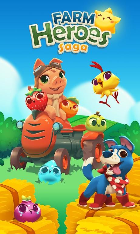 Farm Heroes Saga poster 4