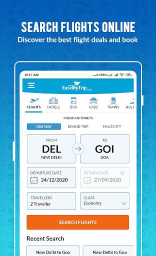 Cheap Flights, Hotel, Bus & Book IRCTC: EaseMyTrip modavailable screenshots 2