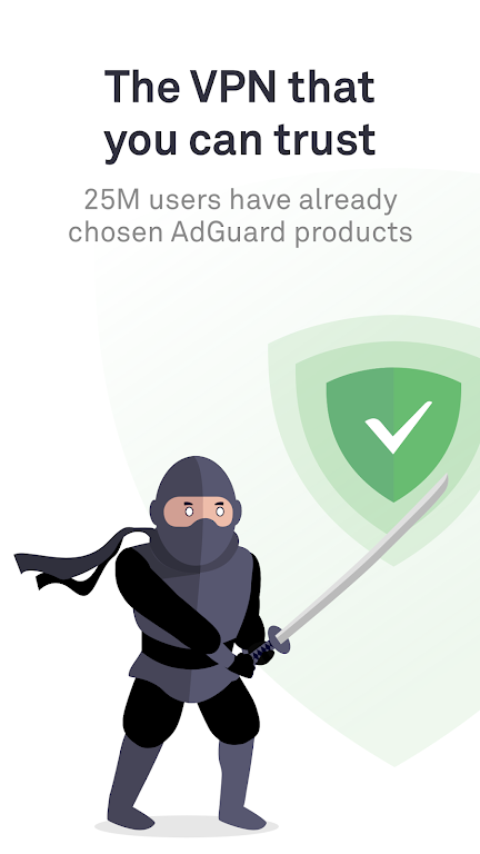 AdGuard VPN — Fast & secure, unlimited protection  poster 0