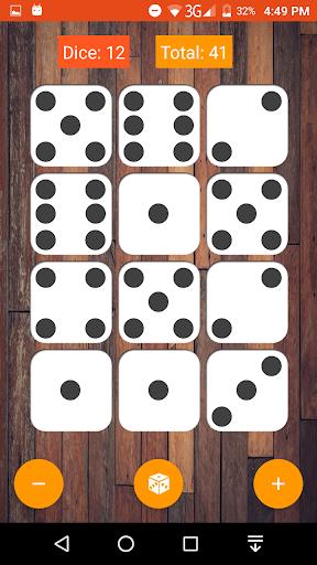 mobile dice screenshot 2