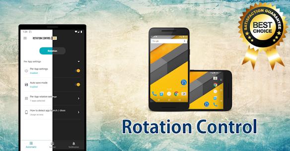 Rotation Control Pro Apk 3.5.5 (Mod/Paid) 9