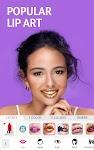 screenshot of YouCam Makeup: Selfie Makeup Editor & Makeover Cam
