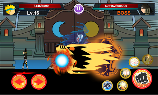 Stickman Ninja 2: Ultimate ninja warrior Hack for iOS and Android 1