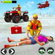Snow ATV Quad Bike Ambulance Rescue Game