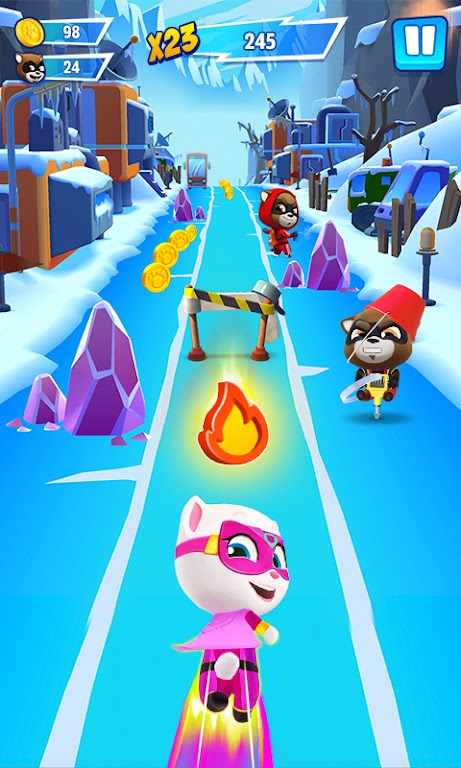 Talking Tom Hero Dash - Run Game  poster 3