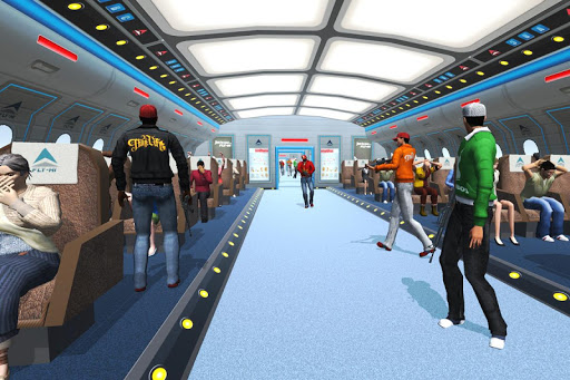 Passenger Airplane Games : Plane Hijack