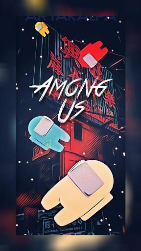 AmongLock - Among Us Lock Screen android2mod screenshots 7