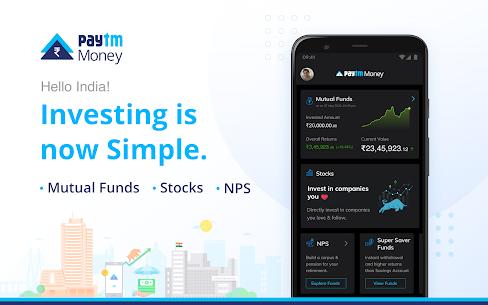 Paytm Money – Stocks & Mutual Funds Investment App Mod 6.6.0511 Apk [Unlocked] 1