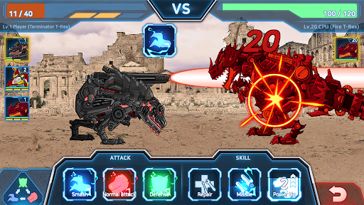 Dino Robot Battle Field - Armoured Dinosaurs War  screenshots 12