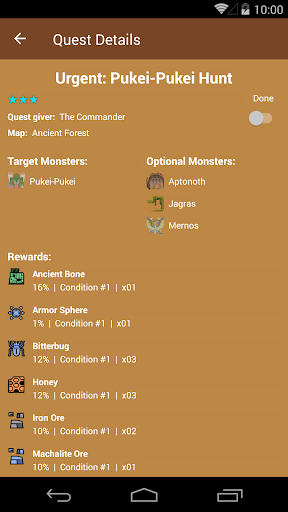 MHW Companion  screenshots 4