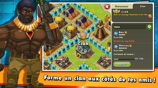 Jungle Heat: War of Clans APK MOD (Astuce) screenshots 2