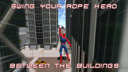 Spider Hero : Super Rope Man 2.07 screenshots 1