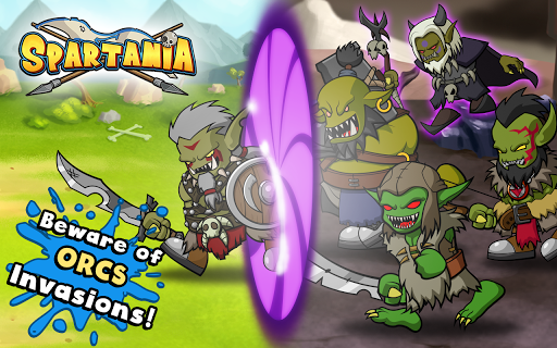 Spartania: The Orc War! Strategy & Tower Defense! 3.17 Screenshots 4