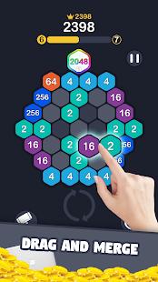 2048 Number Hexagon 1.0.2 screenshots 1
