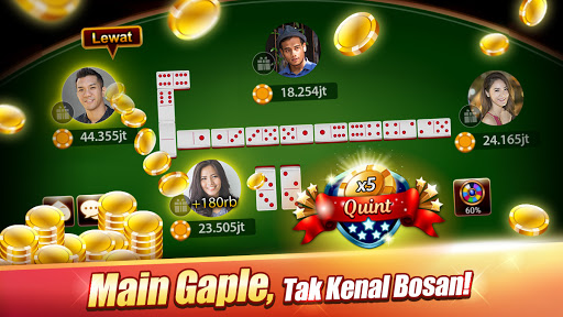 Domino : LUXY Domino & Poker - Gaple QiuQiu Remi 5.2.6.1 screenshots 1