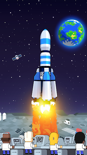 Rocket Star - Idle Space Factory Tycoon Game 1.45.0 screenshots 7