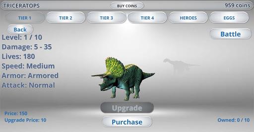 Jurassic Epic Dinosaur Battle Simulator Dino World 1.0.1 screenshots 21