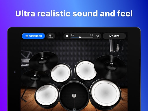 Drums: real drum set music games to play and learn 2.18.01 screenshots 12