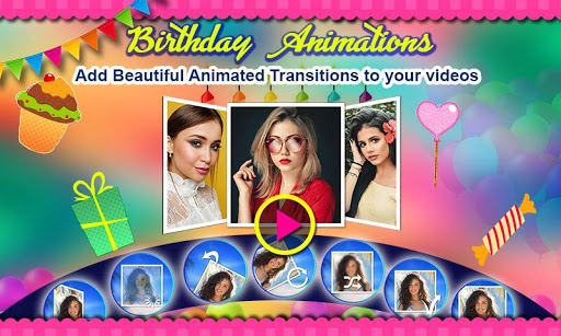 Birthday Video Maker with Song and Name 2021 android2mod screenshots 7