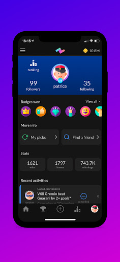 PeerBet - Sports prediction game 8.0.3 screenshots 4