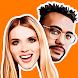 Emolfi Keyboard: selfie stickers for messengers - Androidアプリ