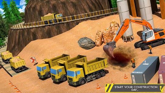 Sand Excavator Offroad Crane Transporter 2