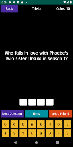 quiz about friends - trivia and quotes screenshot 3