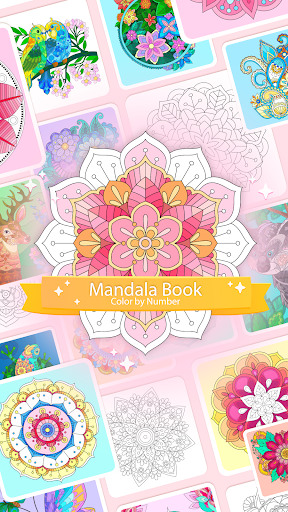 Color by Number u2013 Mandala Book modavailable screenshots 1