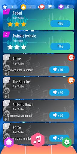 Alan Walker : Best Piano Tiles DJ  screenshots 2
