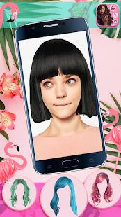 Hairstyle Camera Beauty : Hair Changer Photo Edit 1.2 Screenshots 3