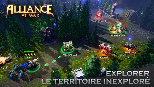 Code Triche Alliance at War: Dragon Empire - Strategy MMO APK Mod screenshots 1