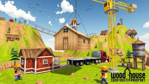 Wood House Construction Simulator 1.1 screenshots 3