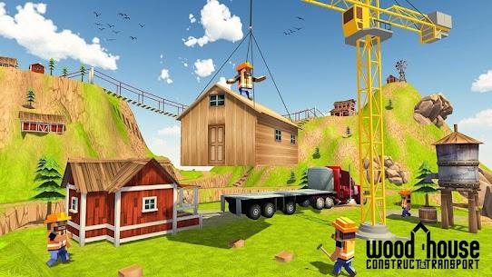 Wood House Construction Simulator 2018 1.0.7 APK Mod Updated 3