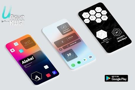 Unique Widgets For KWGT Mod Apk v2021.Apr.14.21 (Paid) 1