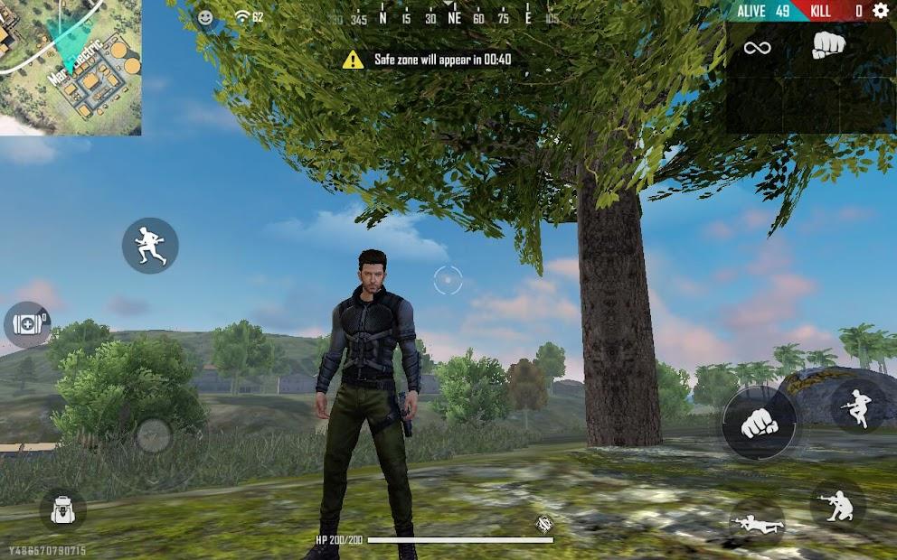 Captura de Pantalla 25 de Garena Free Fire: World Series para android