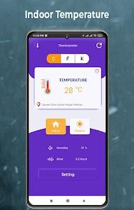 Digital Thermometer Room Temperature 1.0