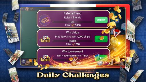 VIP Tarot - Free French Tarot Online Card Game 3.7.4.26 screenshots 4
