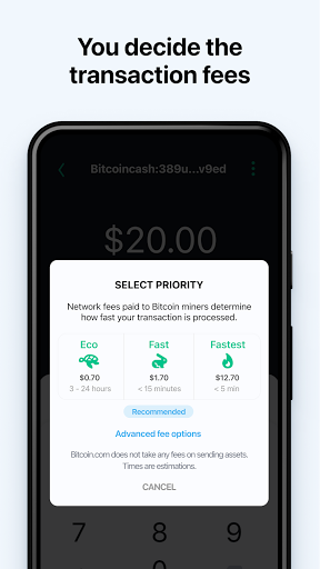 Bitcoin Wallet: buy BTC, BCH & ETH screenshots 7