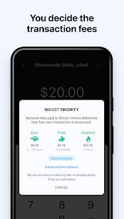 Bitcoin Wallet: buy BTC, BCH & ETH 7.2.6 Screenshots 7
