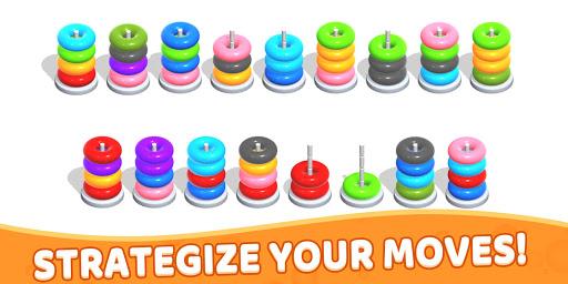 Color Hoop Stack - Sort Puzzle 1.1.2 screenshots 22
