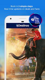 eDestinos - Flights, Hotels, Rent a car, Deals 2.0.18 Screenshots 1